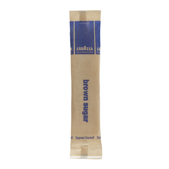 Lavazza Sugar Brown Tubes (1000 x 4.5g)