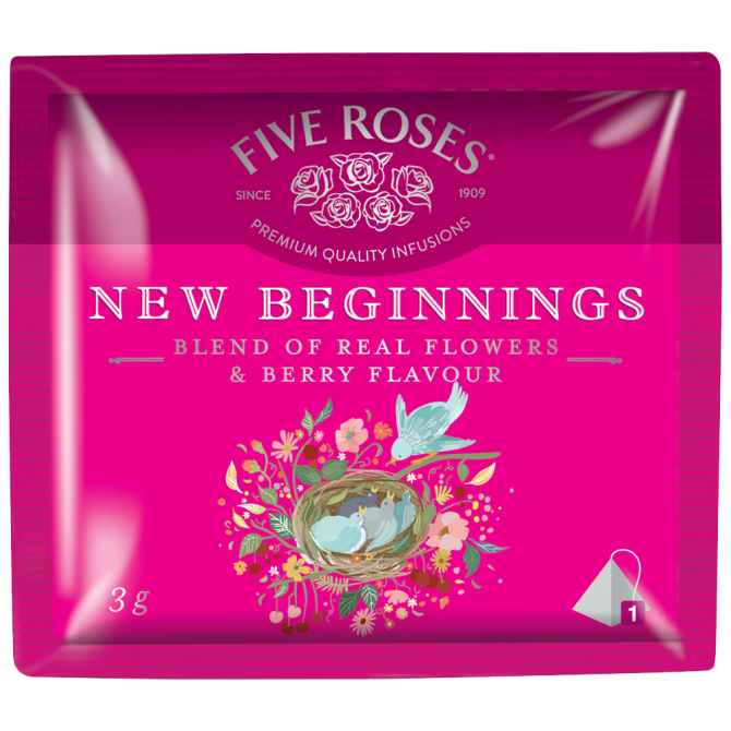 Five Roses Infusions New Beginnings (20 x 3g)