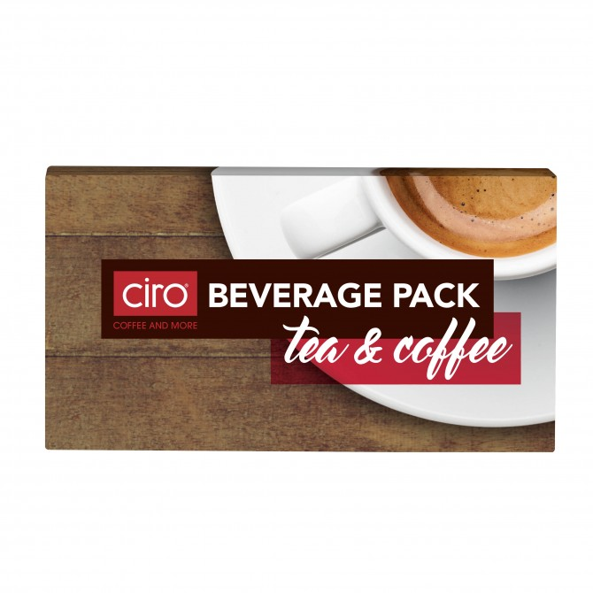 Tea and Instant Coffee Beverage Packs (50 x 40g)