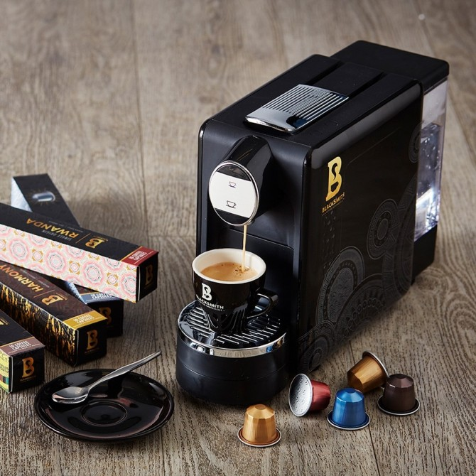 Starter Pack with Nespresso® Compatible Capsule Machine
