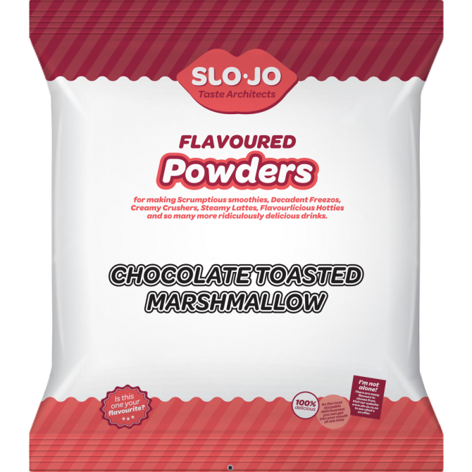 Slo-Jo Choc Toasted Marshmallow Powder (1 x 1kg)