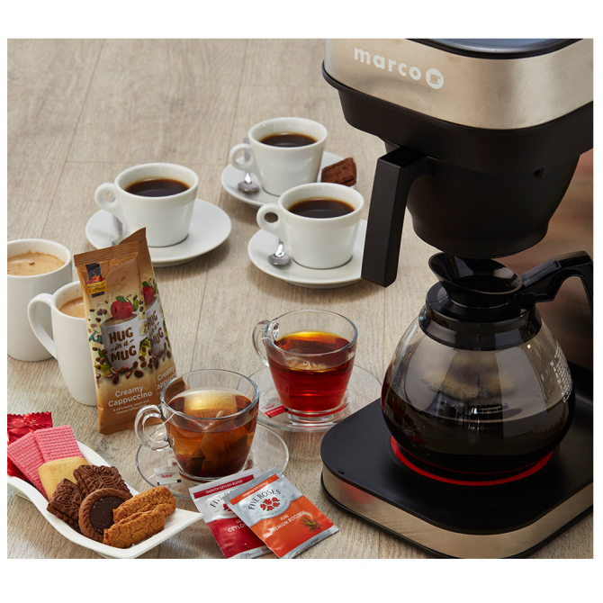 Filter Coffee Starter Pack with Machine
