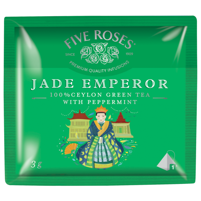 Five Roses Infusions Jade Emperor (20 x 3g)