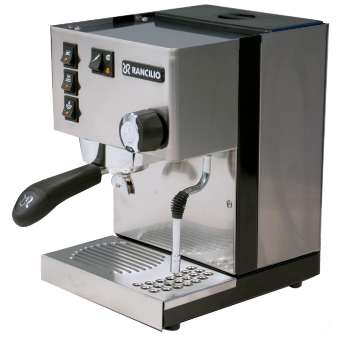 Rancilio Silvia Lavazza BLUE Compatible 1 Group Espresso Machine