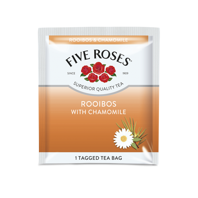 Five Roses Rooibos & Chamomile Envelope (60 x 1.5g)