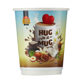Hug in a Mug 250ml Takeaway Cups (250 x 250ml)