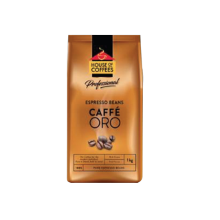 House of Coffees Caffe Oro Espresso Beans (1 x 1kg)