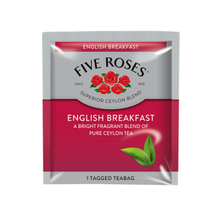 Five Roses English Breakfast Envelopes (200 x 2.5g)