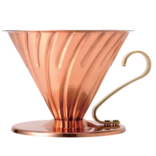 Hario V60 Two Cup Coffee Dripper Copper