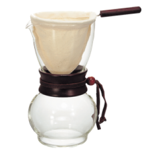 Hario Drip Pot With Cloth Filter (480 ml)