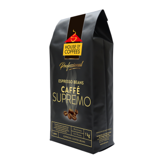 House Of Coffees Caffe Supremo Espresso Beans (1 x 1kg)