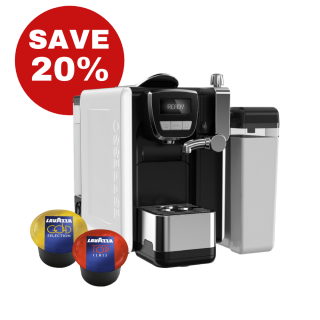 Lavazza BLUE Equipment and Capsule Deal - SAVE 20%