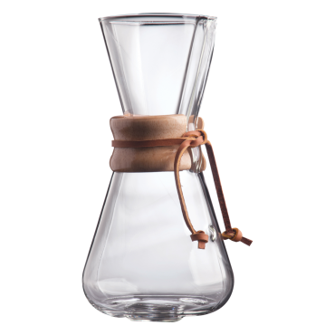 Chemex 3 Cup Glass Coffee Maker